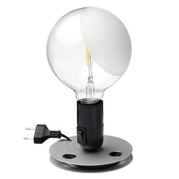 Flos Lampadina LED, schwarz