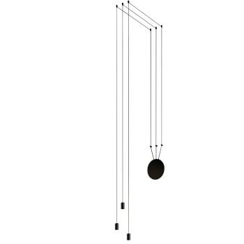 Vibia Wireflow Free-Form ohne Glasdiffusor, 3 LEDs (0363)