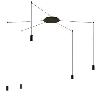 Vibia Wireflow Free-Form ohne Glasdiffusor, 5 LEDs (0365)