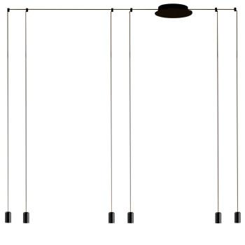 Vibia Wireflow Free-Form ohne Glasdiffusor, 6 LEDs (0366)