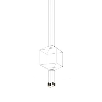 Vibia Wireflow 4 LEDs, Breite 50 cm (0312)