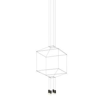 Vibia Wireflow 4 LEDs, Breite 64 cm (0311)