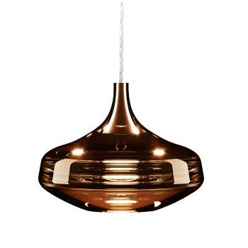 Studio Italia Design Nostalgia Glass Large, Kupfer