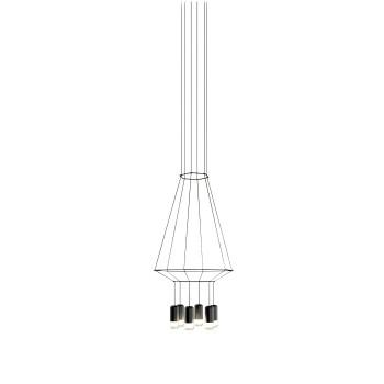 Vibia Wireflow 6 LEDs, Breite 40 cm (0308)