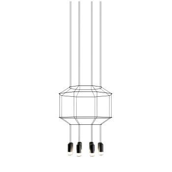 Vibia Wireflow 8 LEDs, Durchmesser 55 cm (0303)