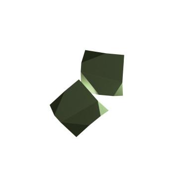 Vibia Origami 4504 Wandleuchte, grün