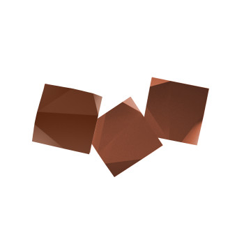 Vibia Origami 4506 Wandleuchte, Terra Dark (rot)
