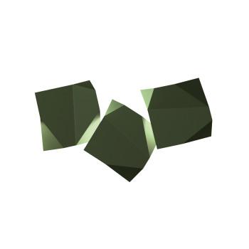 Vibia Origami 4506 Wandleuchte, grün