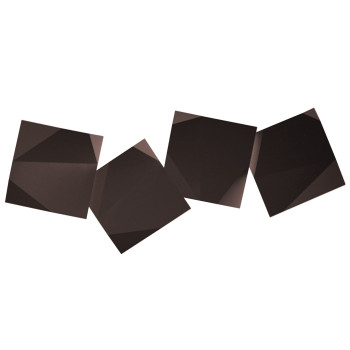 Vibia Origami 4508 Wandleuchte, braun