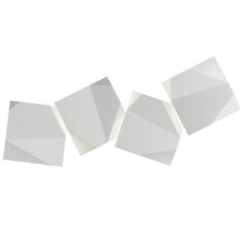 Vibia Origami 4508 Wandleuchte, weiß