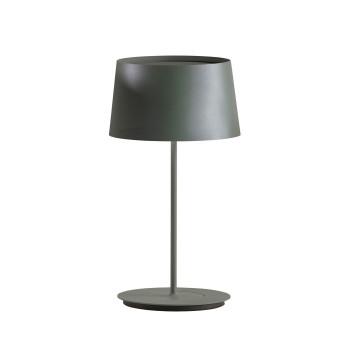 Vibia Warm 4896 Tischleuchte, dunkelgrün