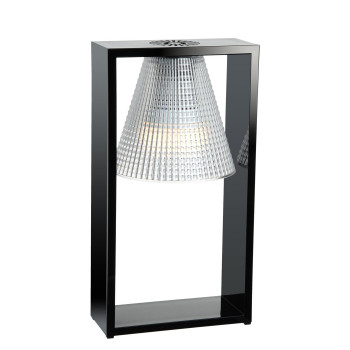 Kartell Light-Air 9135, noir / transparent