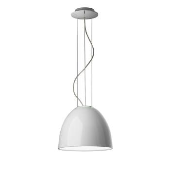 Artemide Nur Mini Gloss Sospensione LED, weiß glänzend
