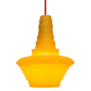 Innermost Stupa 18 Suspension, jaune