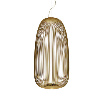 Foscarini Spokes 1 Sospensione dimmbar, gold