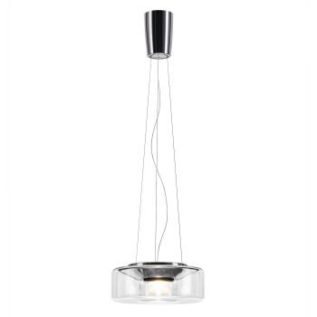 Serien Lighting Curling Suspension Rope M LED, 2700K, Glasschirm klar