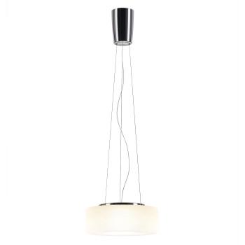 Serien Lighting Curling Suspension Rope M LED, 2700K, Glasschirm opal