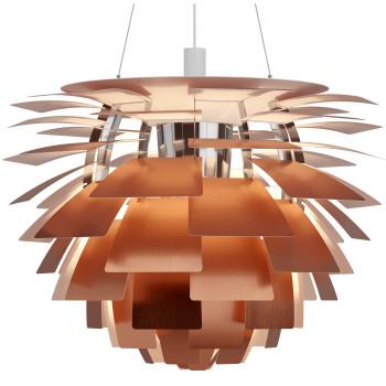 Louis Poulsen PH Artichoke 840 LED, Kupfer, DALI