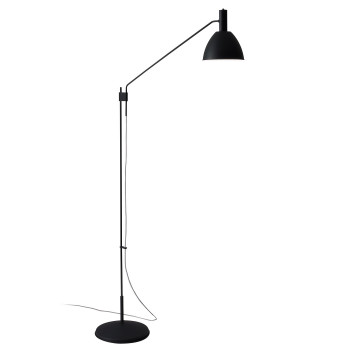 Lumini Bauhaus 90 F LED, komplett schwarz