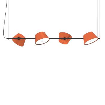 Marset Tam Tam 4, 4 orange Schirme
