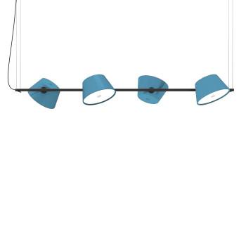 Marset Tam Tam 4, 4 blaue Schirme