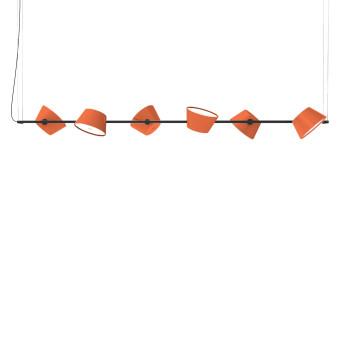 Marset Tam Tam 6, 6 orange Schirme