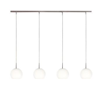 Casablanca Ball Pendant Light, with four lights