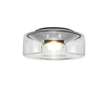 Serien Lighting Curling Ceiling S LED, 3000K, Glasschirm klar
