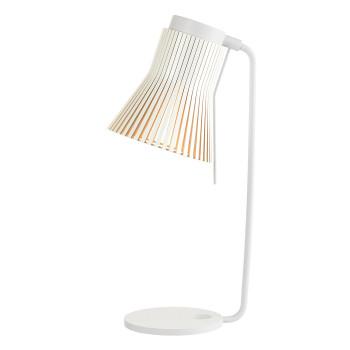 Secto Petite 4620 Lampe de table, bouleau stratifié blanc