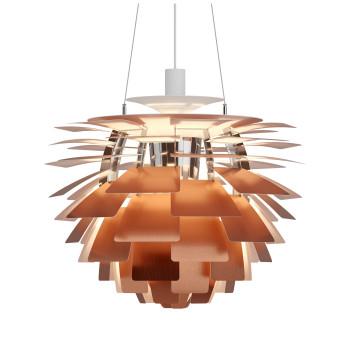 Louis Poulsen PH Artichoke 600 LED, Kupfer, DALI