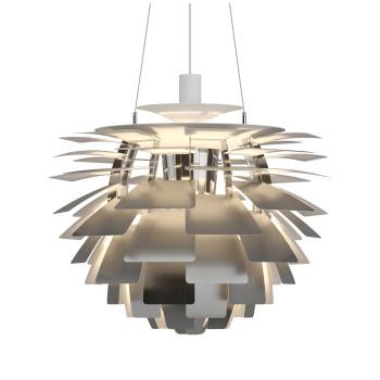 Louis Poulsen PH Artichoke 600 LED, Edelstahl matt, DALI