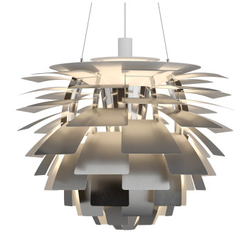 Louis Poulsen PH Artichoke 720 LED, Edelstahl matt, DALI