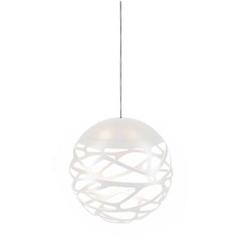 Studio Italia Design Kelly Cluster Sphere, weiß mit weißem Baldachin