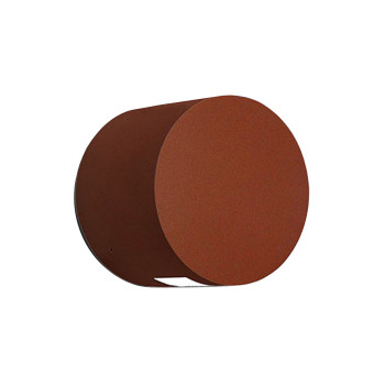 Artemide Effetto Round 1 Large Beam, rostfarben