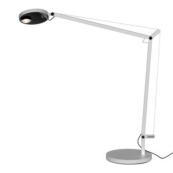 Artemide Demetra Professional Tavolo LED, weiß matt, mit Anwesenheitssensor