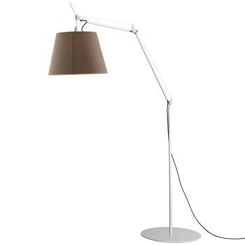 Artemide Tolomeo Paralume Outdoor LED Terra, Schirm Tramato Dove Grey (taubengrau)
