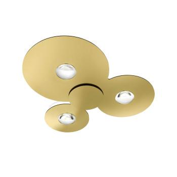 Studio Italia Design Bugia Triple, gold, 3.000K