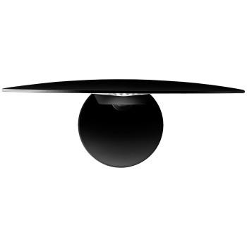 Lodes Puzzle Single Round, schwarz matt, 3000K