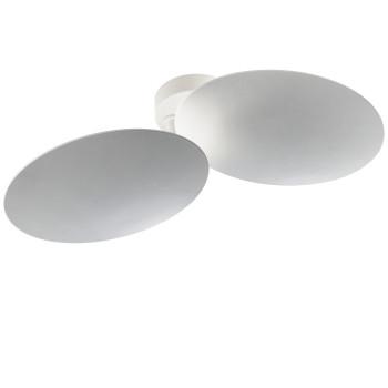 Studio Italia Design Puzzle Double Round, weiß, 3000K