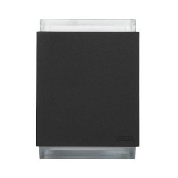 Bega 33549 LED große Wandleuchte, zweiseitig abstrahlend, DALI steuerbar, grafit