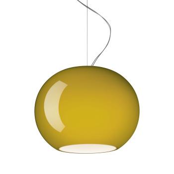 Foscarini Buds 3 Sospensione LED, bambusgrün, dimmbar Push/DALI