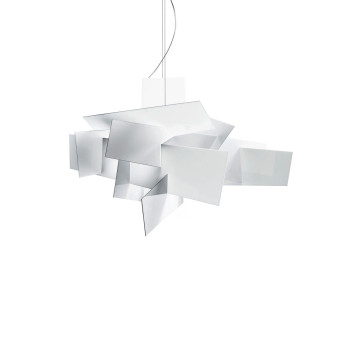 Foscarini Big Bang L Sospensione LED, weiß