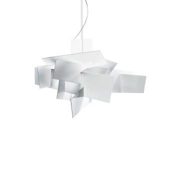 Foscarini Big Bang L Sospensione LED, weiß, mit Sonderlänge max. 10 m