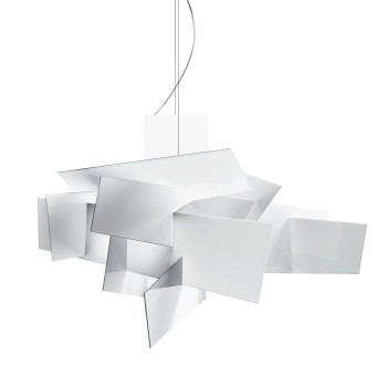Foscarini Big Bang XL Sospensione LED, weiß