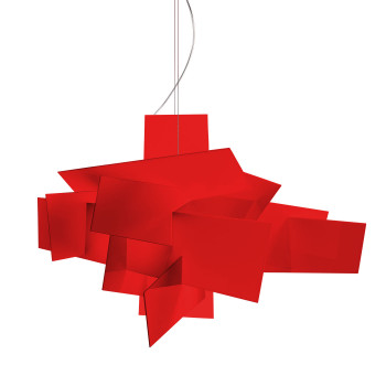 Foscarini Big Bang XL Sospensione LED, rot