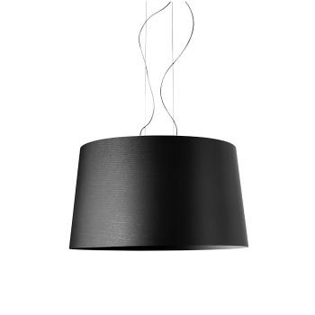 Foscarini Twice as Twiggy Sospensione, schwarz, mit Kabelsonderlänge max. 10 m