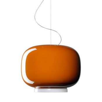Foscarini Chouchin 1 LED, orange, dimmbar Push/DALI