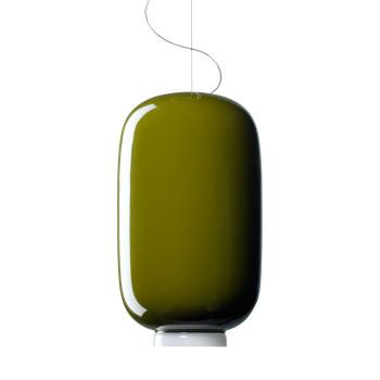 Foscarini Chouchin 2 LED, grün, dimmbar Push/DALI