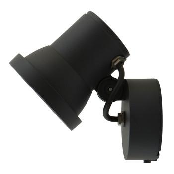 Bega 77607 LED-Scheinwerfer mit Montagedose, ohne Netzteil, graphit