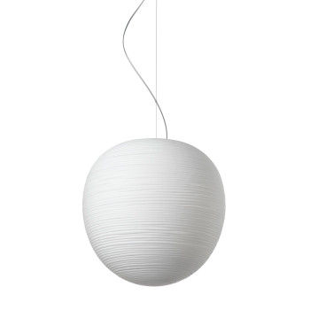 Foscarini Rituals XL Sospensione LED, weiß, dimmbar Push/DALI